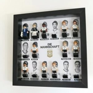 German DFB Team Face Acrylic Minifigure Display