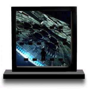 Millennium Falcon Frame Display Mount Acrylic Insert