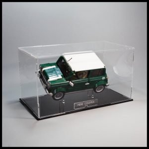 Mini Cooper Acrylic Display Case With Internal Sand