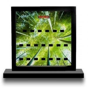Ninja Bamboo Acrylic Minifigure Display