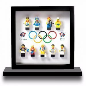 Olympic Rings Frame Display Mount Acrylic Insert