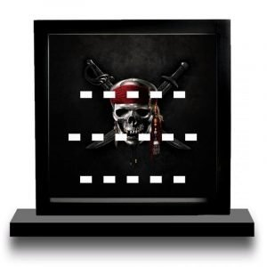 Pirates Of The Caribbean Acrylic Minifigure Display