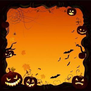Spooky Acrylic Display Frame