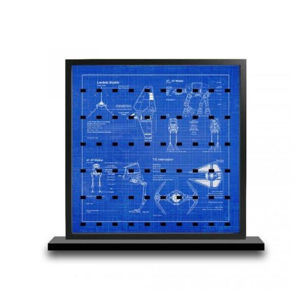 Star Wars Blueprintcm Acrylic Minifigure Insert