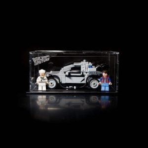 The Delorean Time Machine Acrylic Display Case