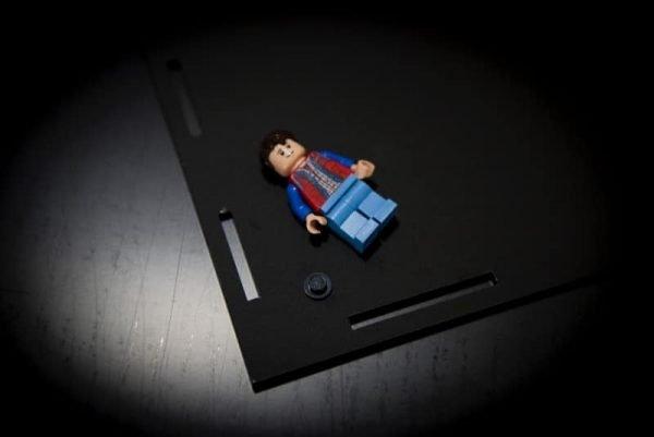 The Delorean Time Machine Acrylic Display Case