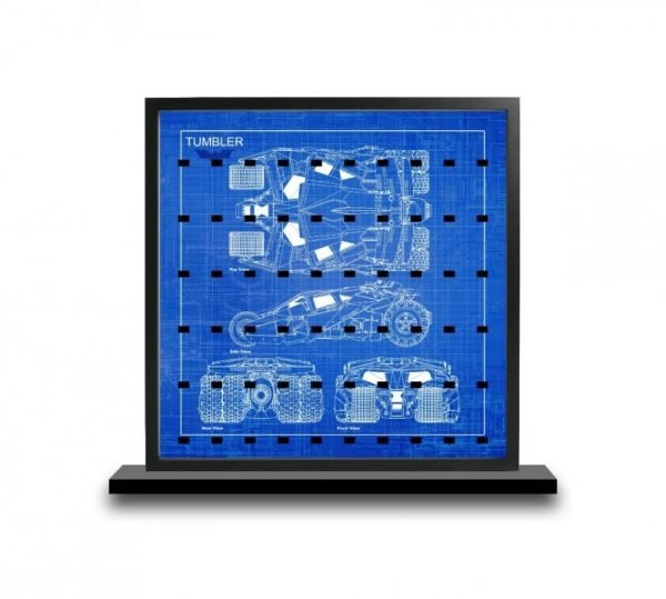 Tumbler Blueprintcm Acrylic Minifigure Insert