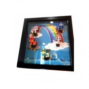 Uni Kitty Frame Display Mount Acrylic Insert