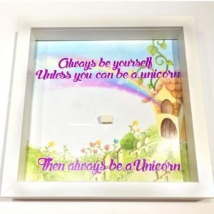 Unicorn Acrylic Display Frame